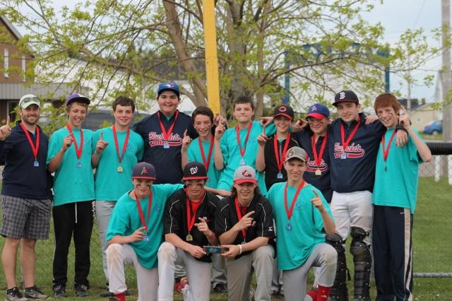 Boys Softball Champs!